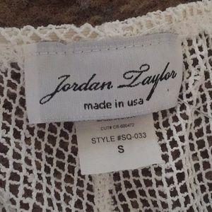 2f7b59743e0a74 Jordan Taylor Pants - White mesh beach pants coverup pants small
